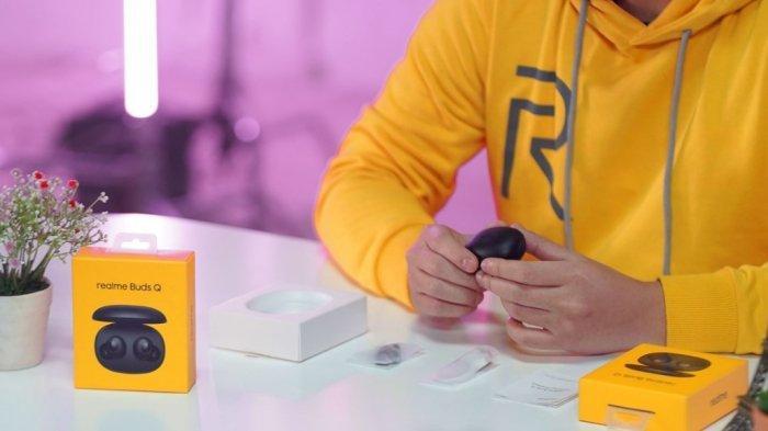 Realme Buds Q Hadir di Indonesia, TWS Gaming Dibanderol Rp 300 Ribuan