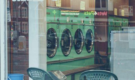 mesin cuci untuk laundry